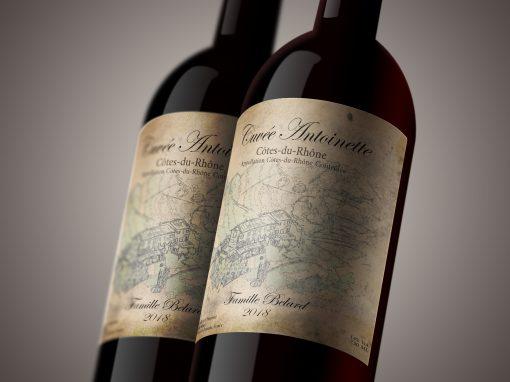 Etiquettes de vin | création